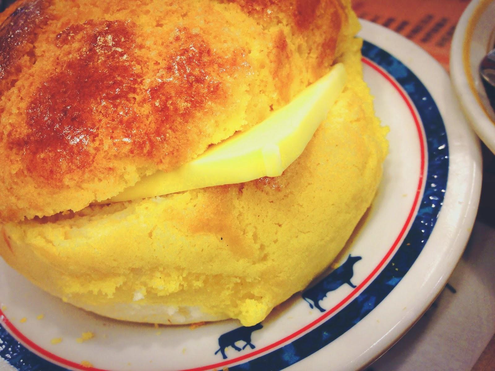 Kum Wah Cafe Hong Kong Polo Bun with Butter