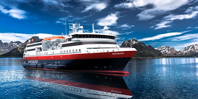 new Hurtigruten ship