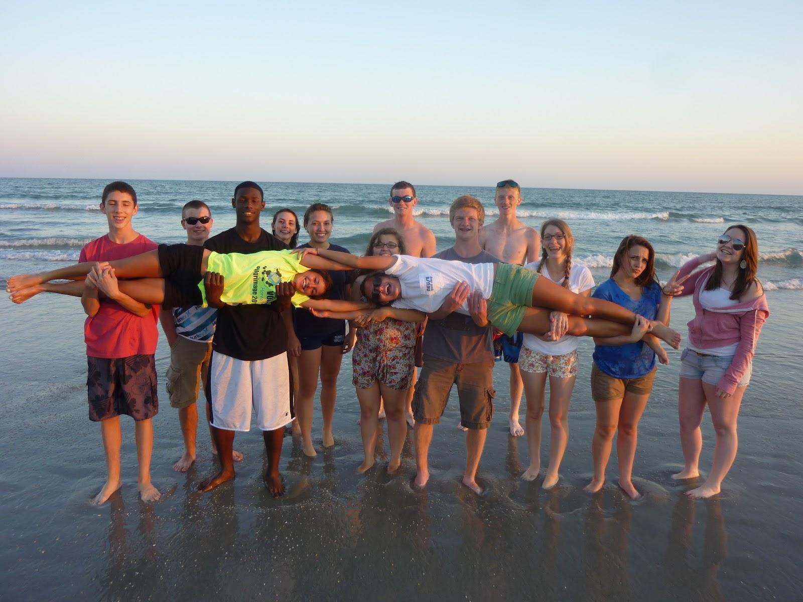 Brad Lopp The 10th 11th Grade Small Group Beach Trip Was Fantastic