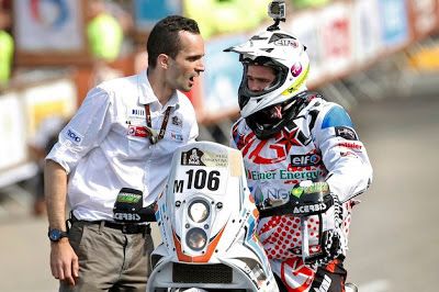 French motorcyclist Thomas Bourgin killed at Dakar