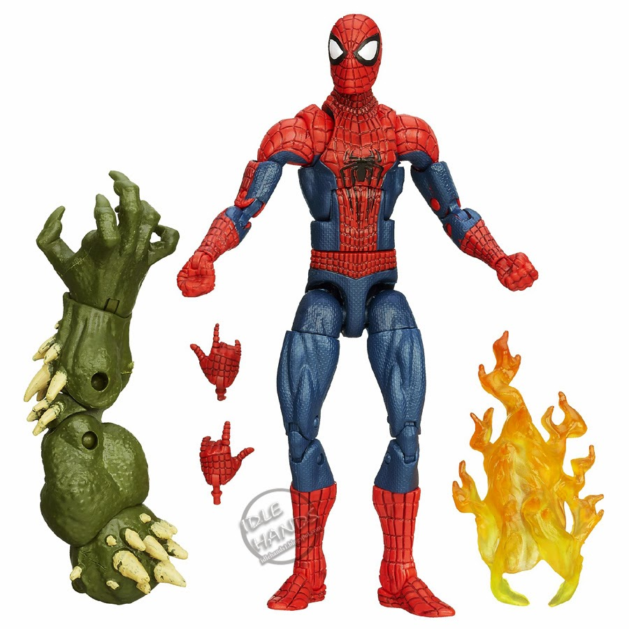 Spider Man Toys : Idle hands preview hasbro s amazing spider man