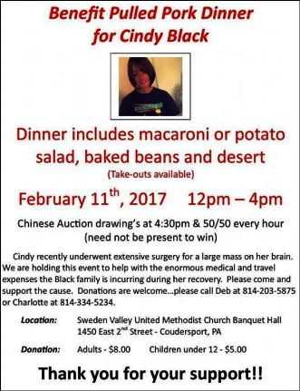 2-11 Cindy Black Benefit Dinner