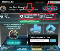 test de velocidad internet