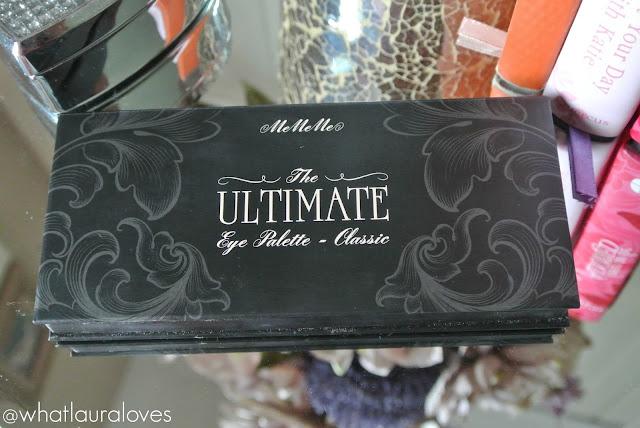 MeMeMe Cosmetics Ultimate Eye Palette - Classics Review