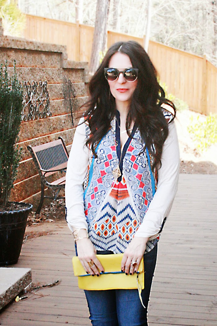 spring styles of peasant tops and blouses