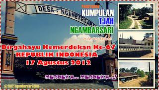 Dirgahayu Kemerdekaan ke 67 Republik Indonesia