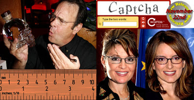 Dan Aykroyd, Captcha, New Releases, NFL rule, Sarah Palin and Tina Fey