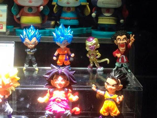 Goku y Vegeta SD Azul