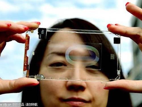 New  Transparent Smartphone