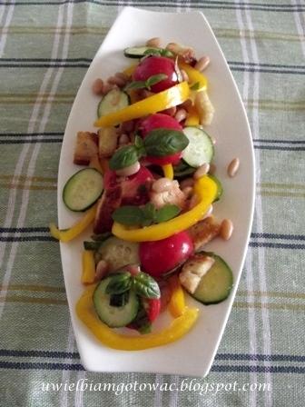 Toskańska sałatka Panzanella