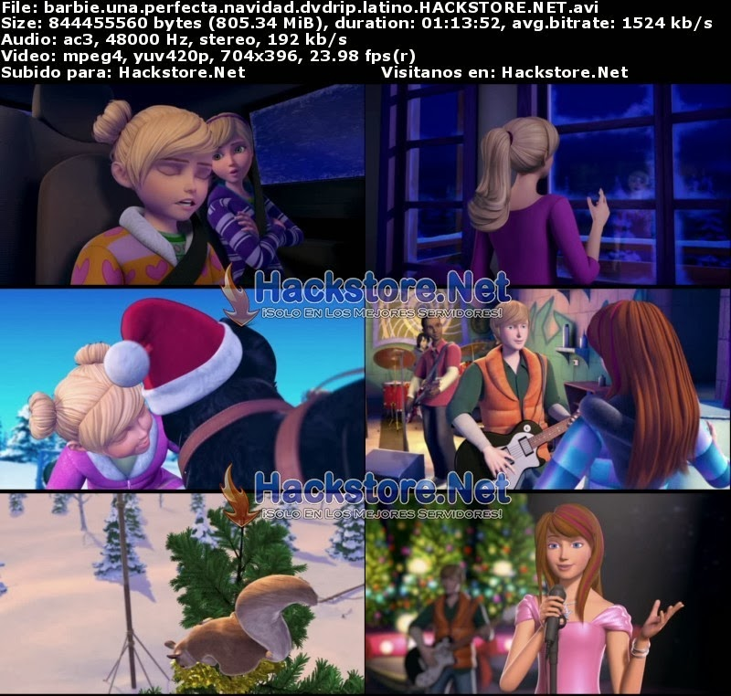 Captura Barbie: Una Perfecta Navidad (2011) DVDRip Latino