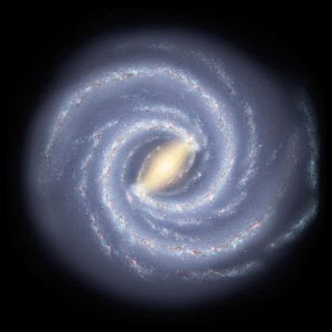 bentuk galaksi spiral