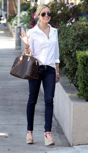 Celebrity Style: Louis Vuitton Bags - Page 15
