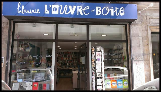 librairie l'ouvre boite bobo rue des petites écuries Paris Arles photos