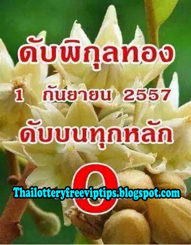 Thai Lotto 3up and down Cut Digit 01-09-2014