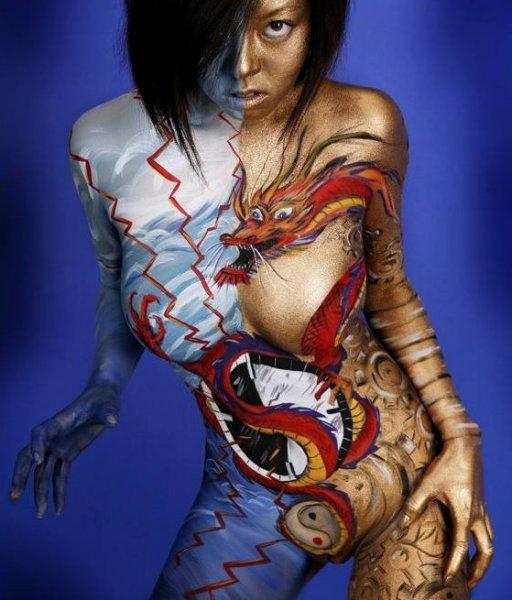 Chicas Hermosas Desnudas Con El Cuerpo Pintado Filmvz Portal