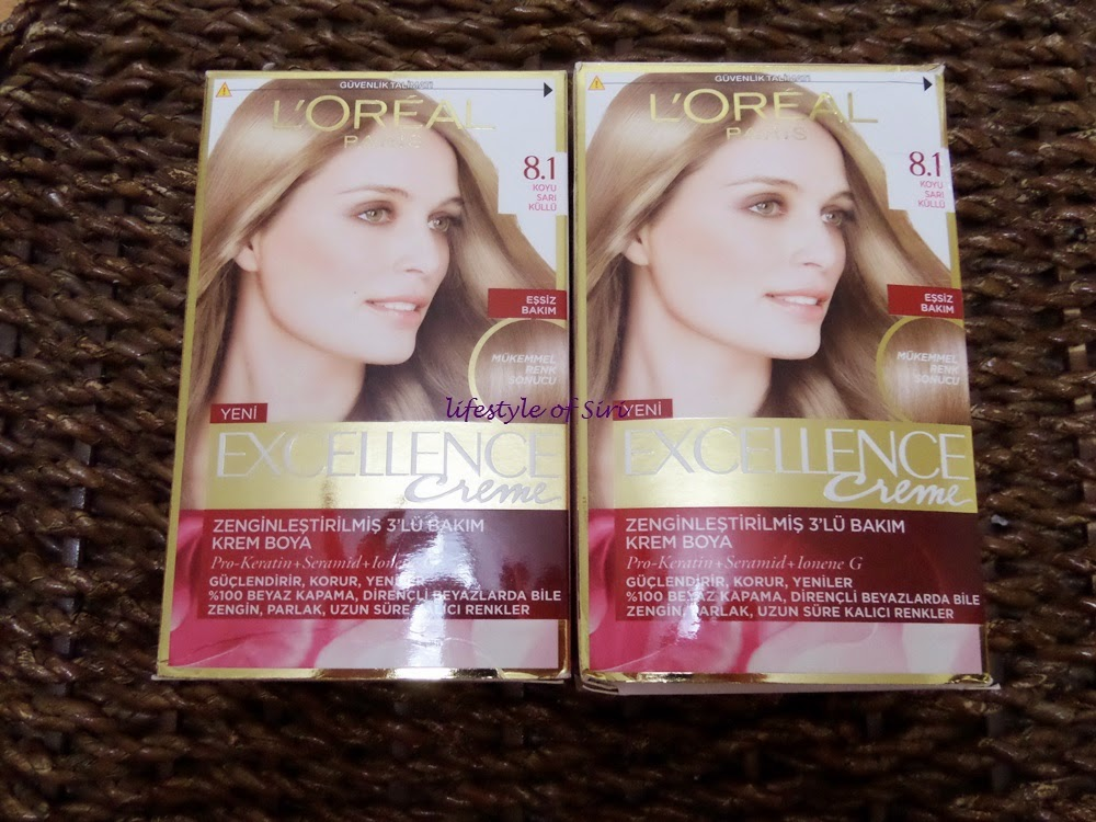 loreal excellence creme 8.1