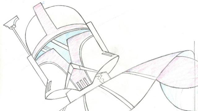 Cartoon Concept Design Star Wars The Clone Wars