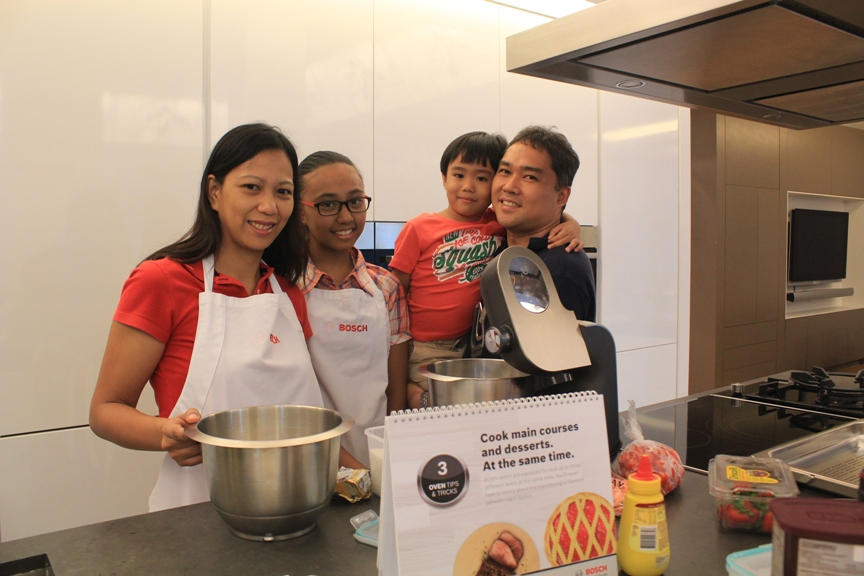 Cooking Fun With Bosch Kitchen Appliances