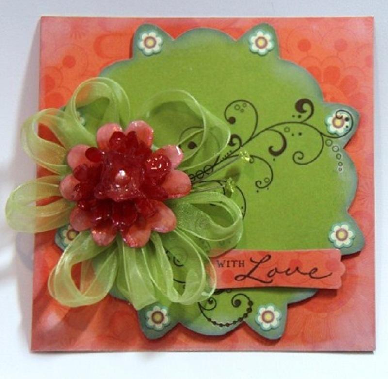 Bobunny july card challenge handmade flowers thecheapjerseys Gallery