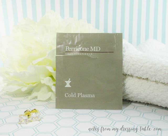 skin care sample extravaganza perricone cold plasma notes from my dressing table