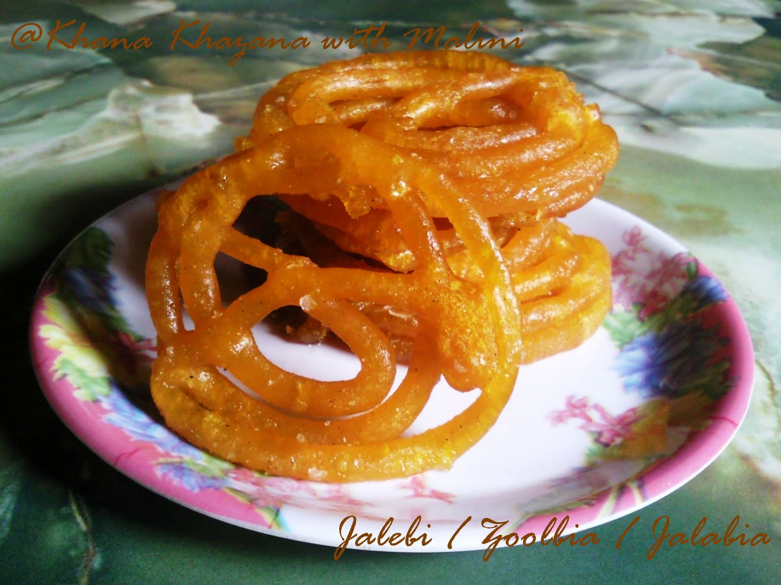 Khana khazana with malini jalebi indian cooking challenge for jalebi indian cooking challenge for august 2011 forumfinder Image collections