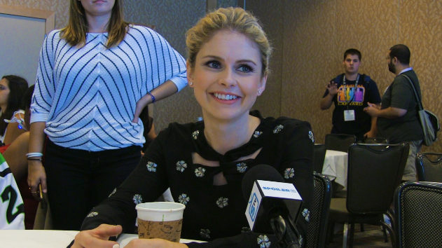 iZombie - SpoilerTV Comic-Con Interview with Star Rose McIver & Creator Rob Thomas
