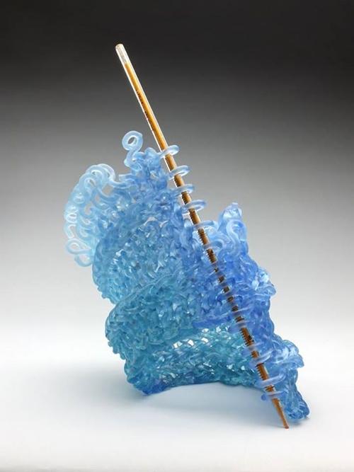 03-Carol-Milne-Glass-Knitted-Sculptures-www-designstack-co
