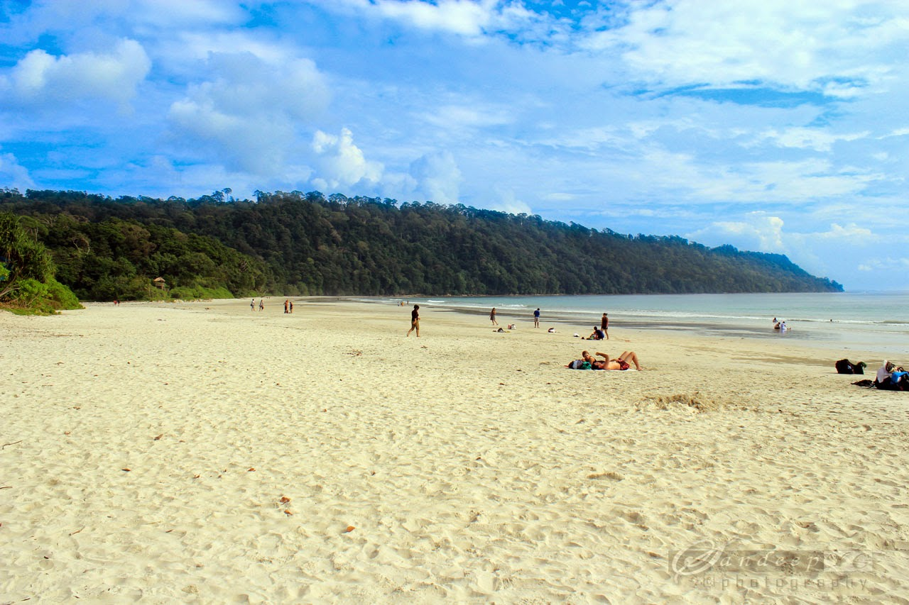 Radhanagar Beach - Best in India and one of the best in Asia