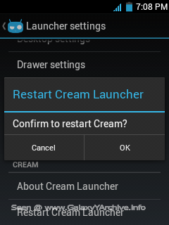 CyanoCream v1 Rom for Samsung Galaxy Y gt-s5360