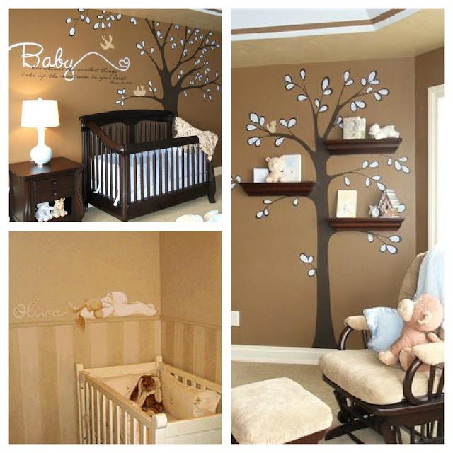 La jirafa rosada hermosos cuartos de bebe for Decoracion cuarto bebe