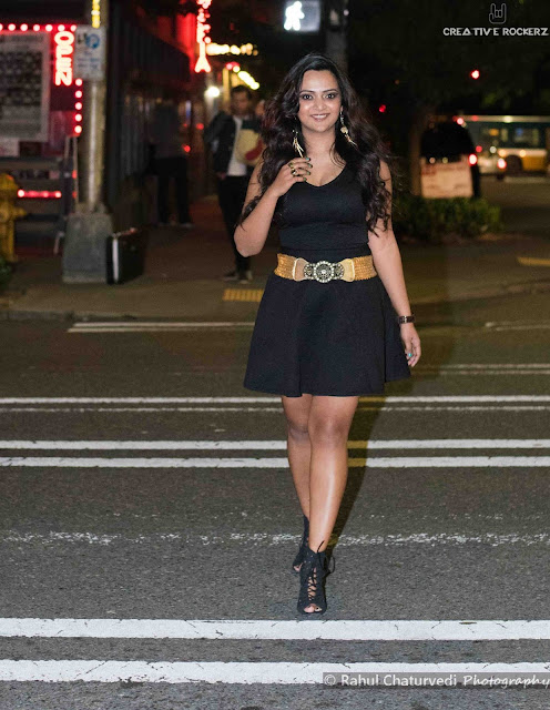 black dress for clubbing, a little black dress with golden belt, Ananya Kiran, Ananya Tales, Indian Fashion Blogger, Indian fashionista , Seattle fashion blog
