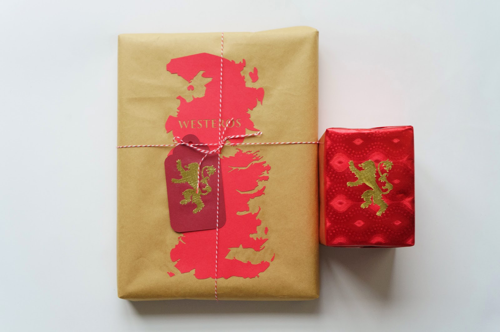 Paper mementos game of thrones inspired gift wrapping for Cool game of thrones gifts