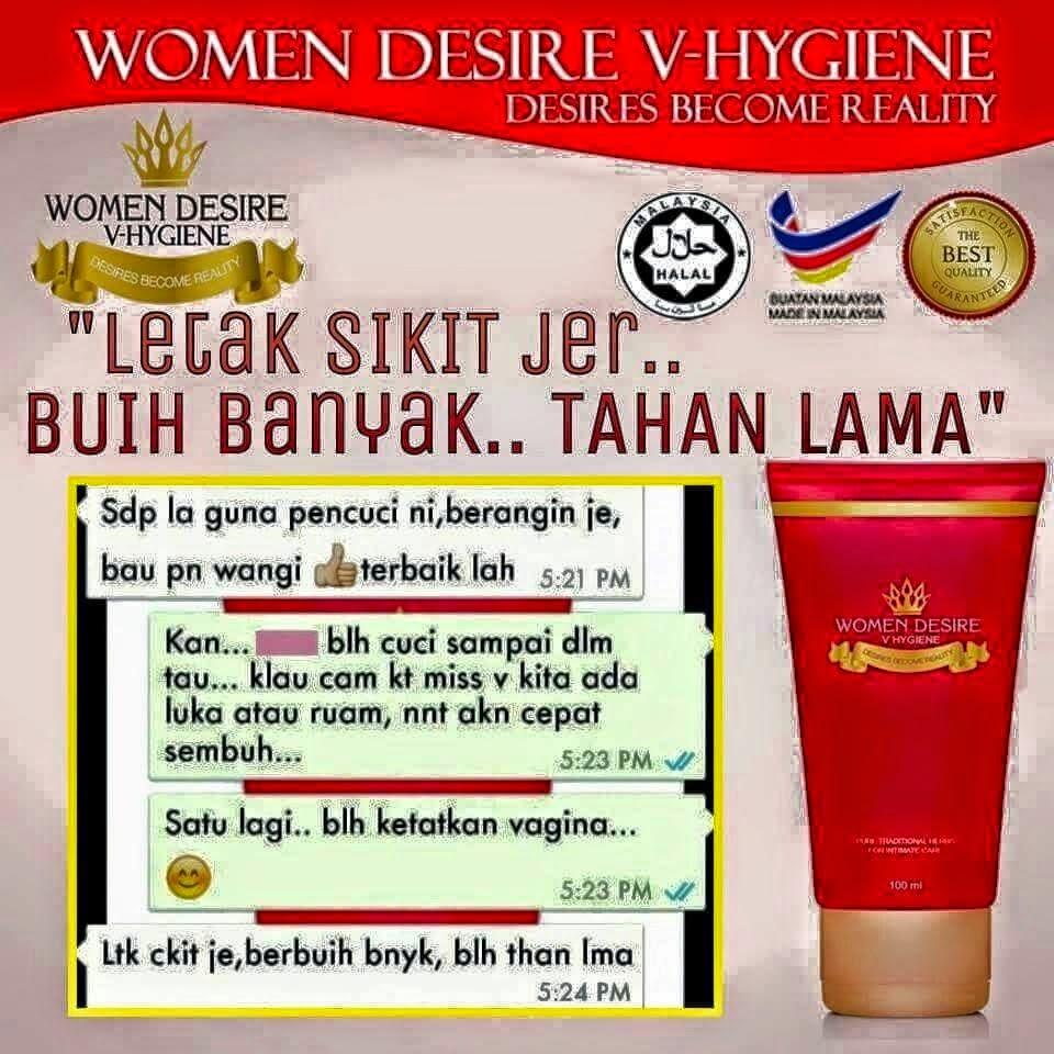 Mysweetbeautyshops Women Desire V Hygiene Penjagaan Miss Yang Kapsul Tapak Baretokuat Dan Tahan Lama 100original