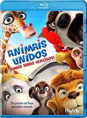 Filme Poster  Animais Unidos Jamais Serão Vencidos BDRip XviD & RMVB Dublado