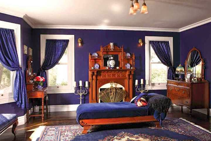 Victorian home interior paint color ideas Victorian bedrooms