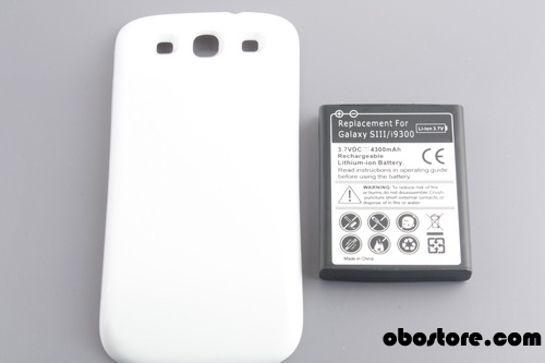 4300mah for Samsung Galaxy S3 Extended Battery - US$10.99 - OBOstore