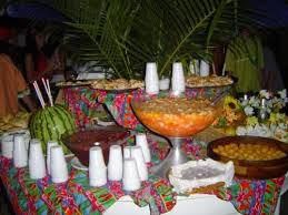 Decoração para Festa Havaiana