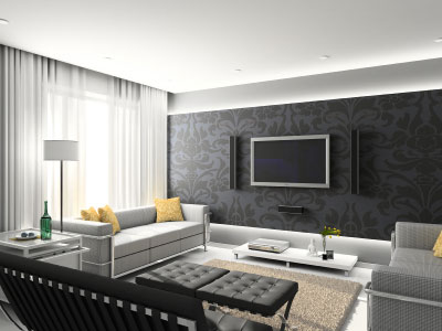 modern interior design on Top Interior Design: Contemporary Living Room Interior Design