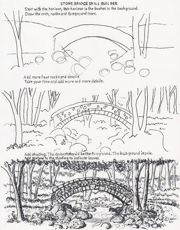 How to Draw Worksheets for The Young Artist title=