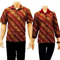 batik sarimbit blouse