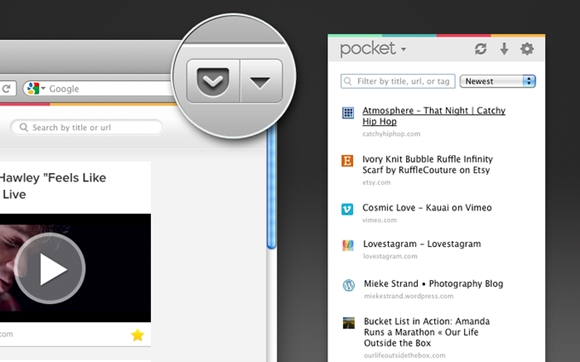 Firefox Pocket Integration