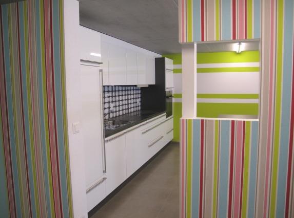 Papel pintado en la cocina para despertar emociones - Papel pintado para cocinas modernas ...