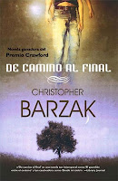 "Portada del libro ""De camino al final"", de Christopher Barzak"