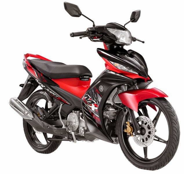New Jupiter MX 2014 Furious Red