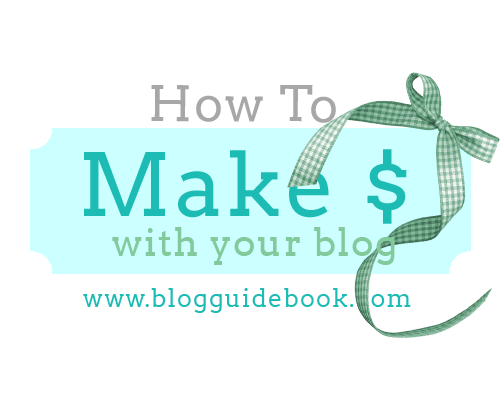 How To Make Money With Your Blog - Post From The Blog Guidebook