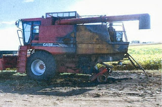Used Case-IH 1660 combine parts