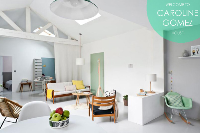 CAROLINE GOMEZ HOUSE-INSPIRACION DECORACION ESTILO ESCANDINAVO-TRES STUDIO
