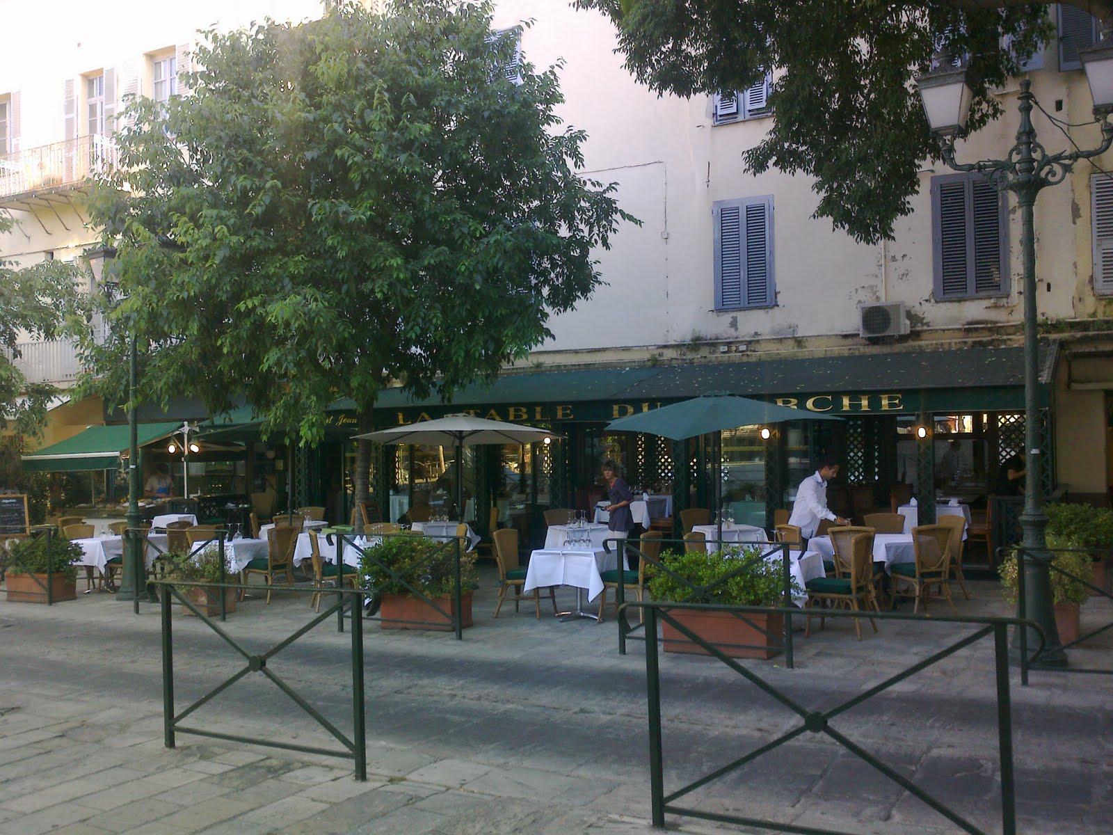 Restaurant la table du march bastia - Restaurant la table du grand marche tours ...
