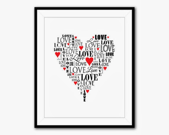 https://www.etsy.com/listing/167653609/love-typgography-print-heart-shaped-word?